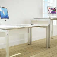 Bench Height Adjustable Desks