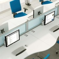Bench Wave Desks