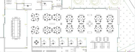 office planning and design. CAD Drawing 2D, 3D Renders (2) Office Planning And Design T