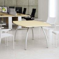D3K Boat Shaped Meeting Table