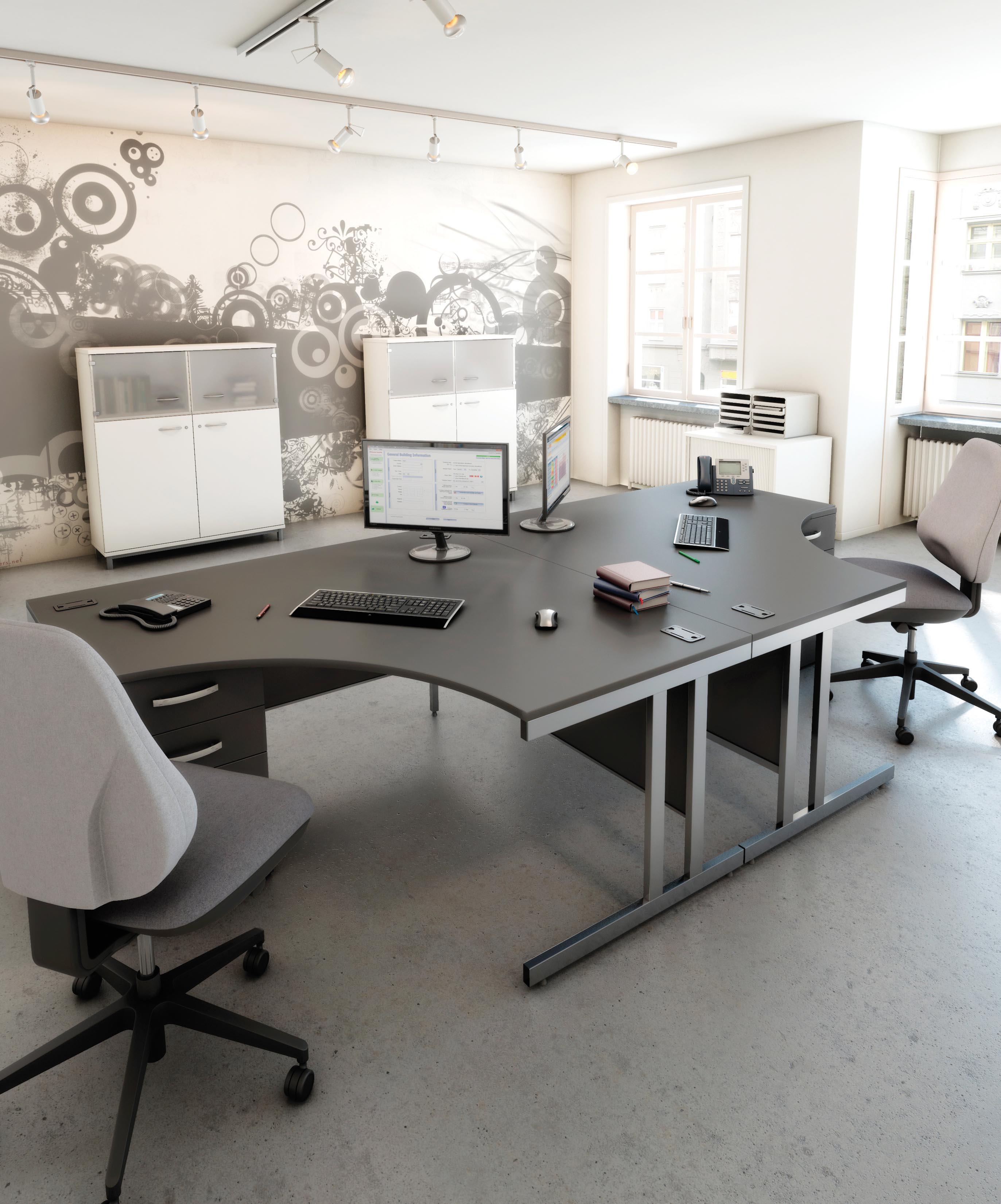 Design 2000 Desking Richardsons Office Furniture And