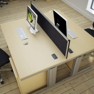 Design 2000 Rectangular Desking 3