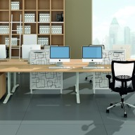Quadrifoglio Mega Desking (53)