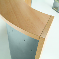 Quadrifoglio Reception Desk (2)