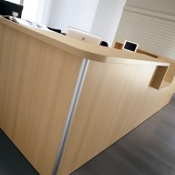 Quadrifoglio Reception Desk (4)