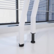 SCRIPT HEIGHT ADJUSTABLE LEG CLOSE UP