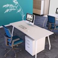 Script Rectangular Desk