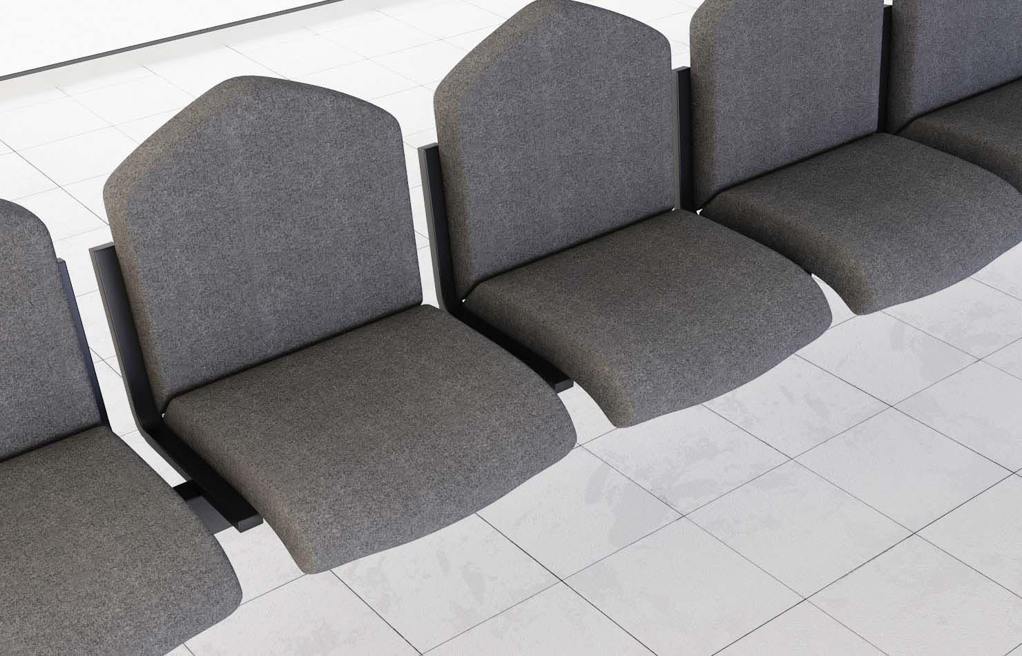 beam/bench seating – waiting room | richardsons office furniture