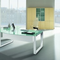 X Time Work Glass Executive Desk  (15)