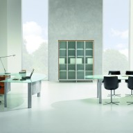 X Time Work Glass Executive Desk  (20)