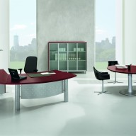 X Time Work Glass Executive Desk  (21)