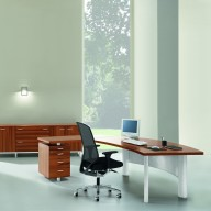 X Time Work Glass Executive Desk  (22)