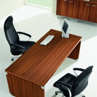 X Time Work Glass Executive Desk  (34)
