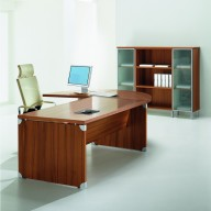 X Time Work Glass Executive Desk  (35)