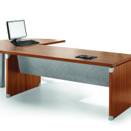 X Time Work Glass Executive Desk  (4)