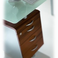 X Time Work Glass Executive Desk  (44)