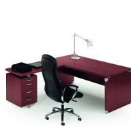 X Time Work Glass Executive Desk  (8)