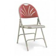 2600 Polyfold Folding Chair - Comfort Back, Linking