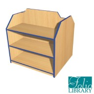 Folio 3ft Double Sided Bookcase