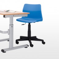 Height Adjustable Tables  Our range of height adjustable tables are available in 2 frame styles.  •  A simple fix and forget which can be adjusted with an allen key from 460-760mm   • A detachable crank handle, which can be adjusted from 490-860mm, ideal for wheelchair use.   • Both designs are available with a top size of 1200 x 600mm or 700 x 600mm   • When the heights are set both frames are anti-tamperproof   •  Also available with Trespa and Iroko tops   •  Stylish Silver EPC frame as standard.   •  Meets all DDA requirements.