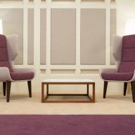 Hush-chairs-in-two-tone-upholstery-on-a-dark-stained-timber-base-2