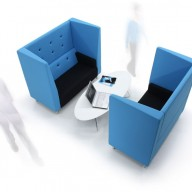 For informal meetings, or just some quiet time to contemplate, the Brix-Up provides a versatile and flexible soft seating, meeting solution. Based on the popular Brix bench seating, the Brix-Up combines an acoustic surround with a two seater Brix bench to create a beautifully detailed unit to suit a new way of working. Brimming with character, these slightly retro units provide a perfect workspace away from your workplace.