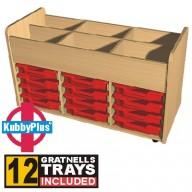 KubbyPlus 12 Tray Trolley