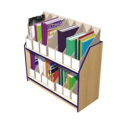 Delicieux Magazine File Storage Units   Holds 14 Files