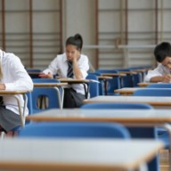 Richardsons Educational Exam Desks (8)