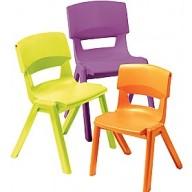 Sebel Postura Classroom Chairs (4)