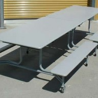 bench table website