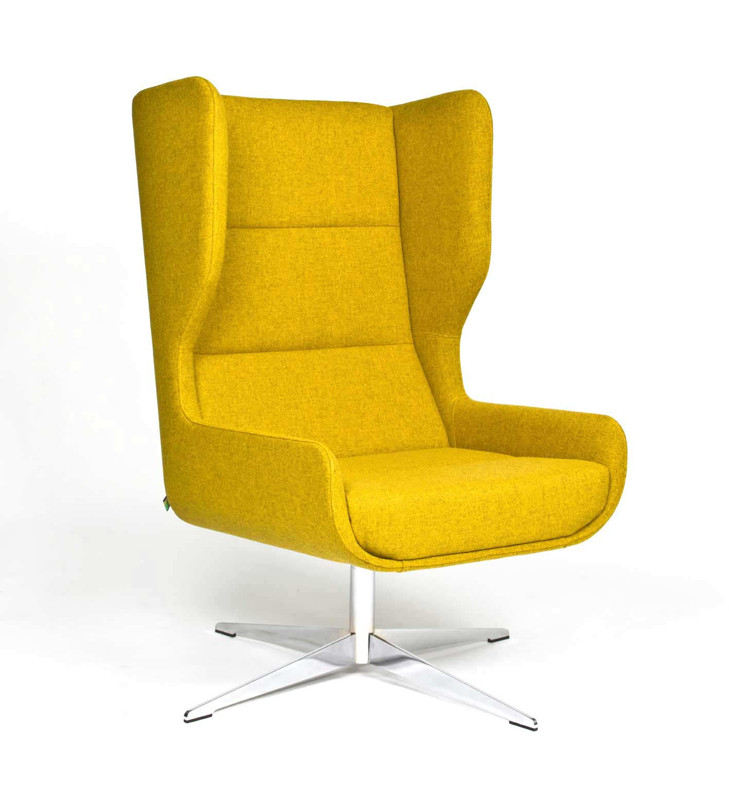 Hush Yellow Divina With Swivel Base Low