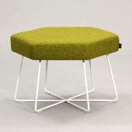 pollen-stool-white-base-upholstered-in-camira-blazer-ulster