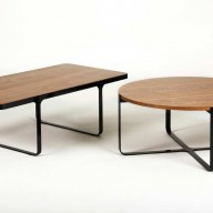 trace-coffee-and-circular-table-blk-frame-walnut-top-low-copy