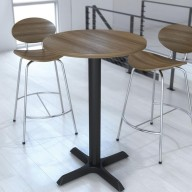 Egis Series 1EG63WLTA Circular Mid Poseur Table