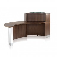 Crescent Reception Desk - Reception Counter (1)