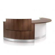 Crescent Reception Desk - Reception Counter (3)