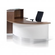 Crescent Reception Desk - Reception Counter (6)