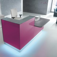 Linea Reception Counter  Reception Desk Bradford - Leeds (17)