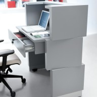 Zen Reception Counter - Desk Bradford - Leeds (1)