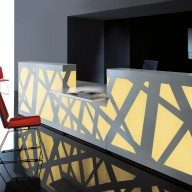 Zig Zag Reception Counter  Reception Desk Bradford - Leeds Richardsons (12)