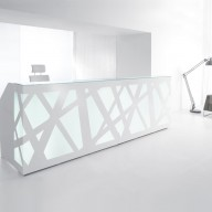 Zig Zag Reception Counter  Reception Desk Bradford - Leeds Richardsons (13)
