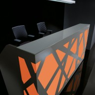 Zig Zag Reception Counter  Reception Desk Bradford - Leeds Richardsons (14)