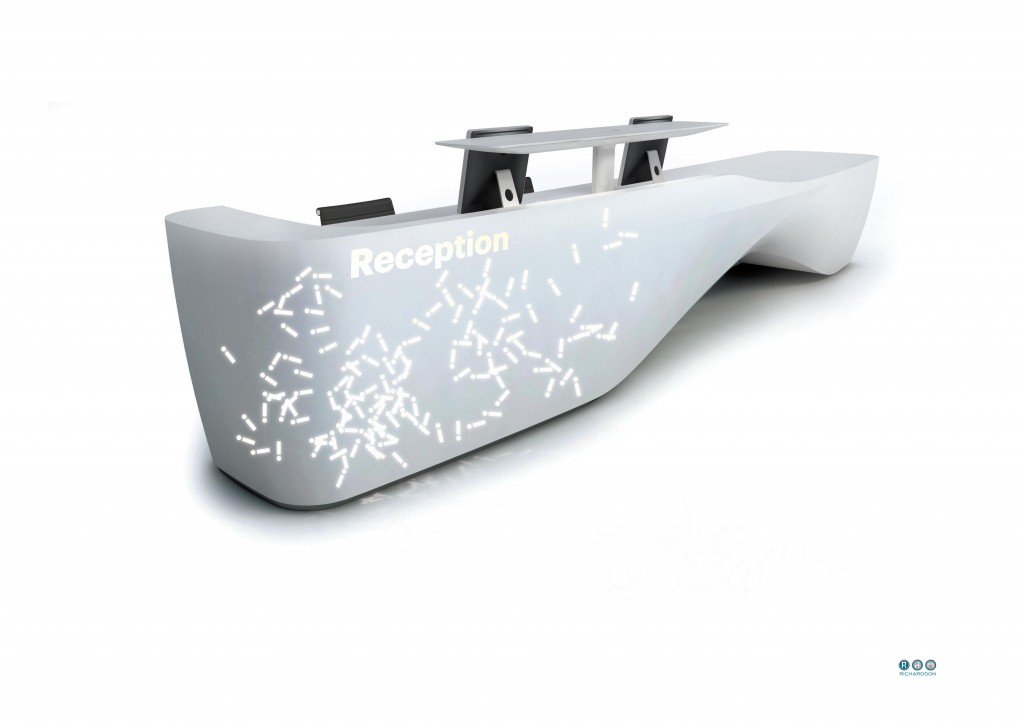 Kin - Isomi - Reception Counter - Reception Desk Richardsons Bradford - Leeds (3)
