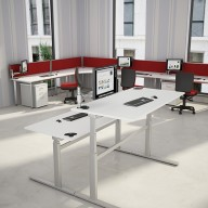 Rise Manual & Motor Driven Height Adjustable Desking (1)