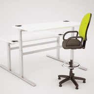 Rise Manual & Motor Driven Height Adjustable Desking (25)