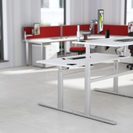 Rise Manual & Motor Driven Height Adjustable Desking (27)