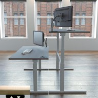 Rise Manual & Motor Driven Height Adjustable Desking (4)