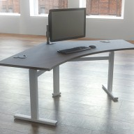 Rise Manual & Motor Driven Height Adjustable Desking (42)
