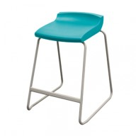 Postura-plus-stool-aqua-blue-display